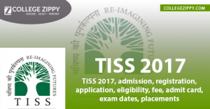 TISS 2017, admission, registration, application, eligibility, fee, admit card, exam dates, placements