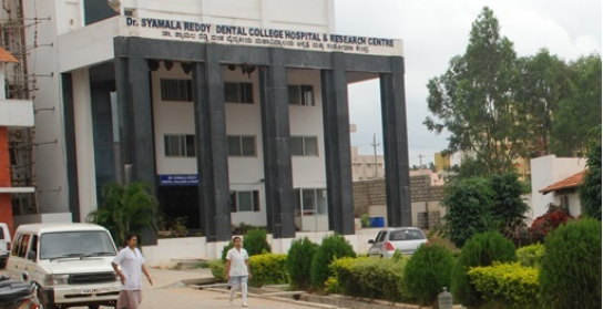 Dr.Syamala Reddy Dental College and Research Centre