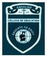 Ansaldo College of Education logo