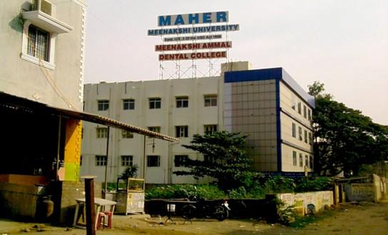 Meenakshi Ammal Dental College and Hospital