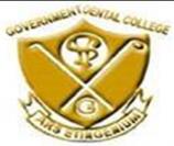 Government Dental College and Hospital logo