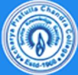 Acharya Prafulla Chandra College logo