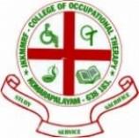JKK Muniraja Medical Research Foundation college of Occupational Therapy logo