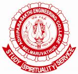 Adhiparasakthi Engineering College logo