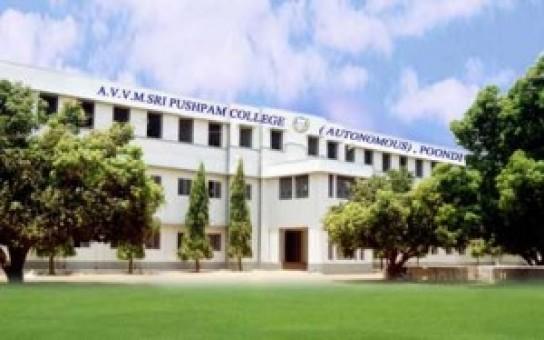 a.v.v.m sri pushpam college in thanjavur